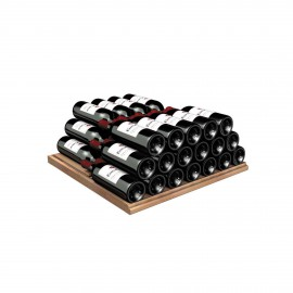 Storage shelf for Bordeaux bottles - Wood front, 5000 Series & Collection range