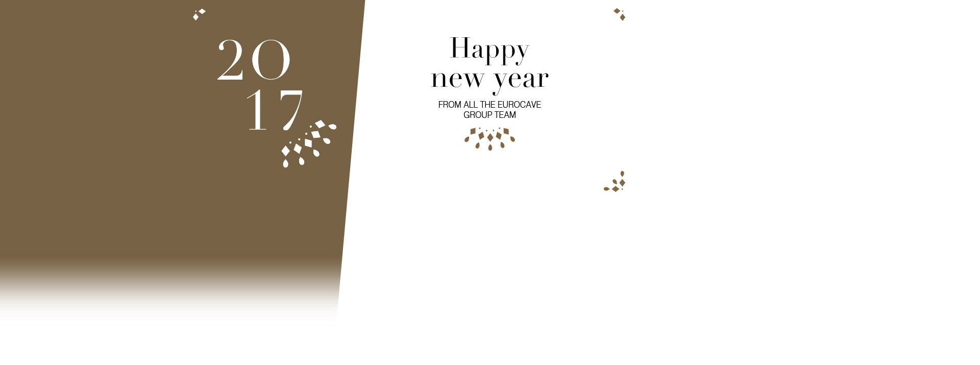 HAPPY NEW YEAR from all the EuroCave team!