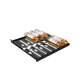 Sliding shelf - Main du Sommelier ACMS2B Glossy black - 12 bottles, 6000 Series & Collection range