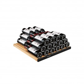 Storage shelf - Glossy black AXUH2B - 77 bottles, 6000 Series & Collection range