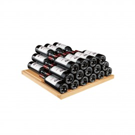 Storage shelf - Light oak AXUH2W - 77 bottles
