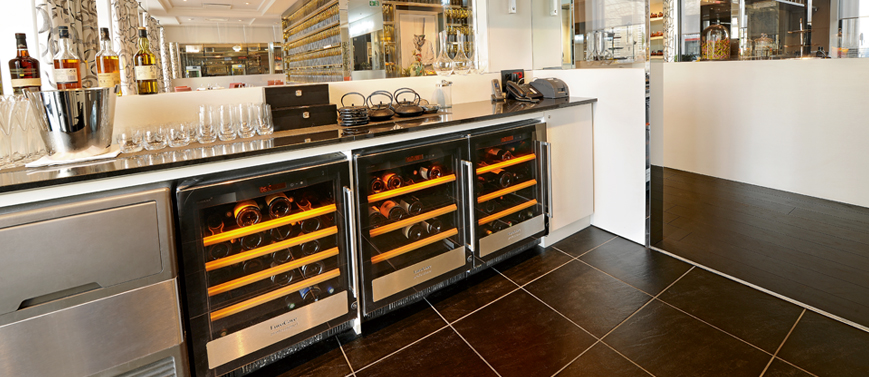 5000 series - Flush-fitting wine cabinets