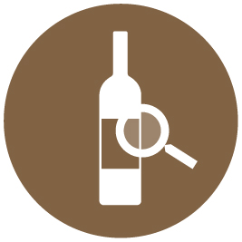 EuroCave app - Use the search function to find your wine bottles inside the cabinet
