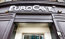 EuroCave showrooms and distributors around the world