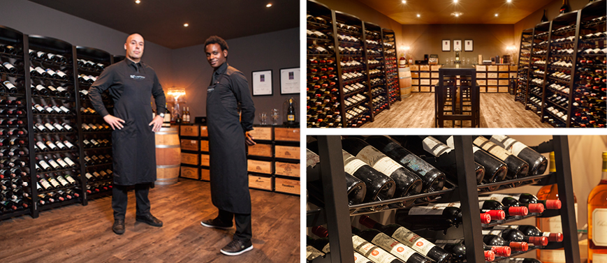 'Waterproef' restaurant - Netherlands - Wine tasting room