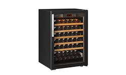EuroCave Professional choice of wine cabinet door - UV-proofed glass doors.