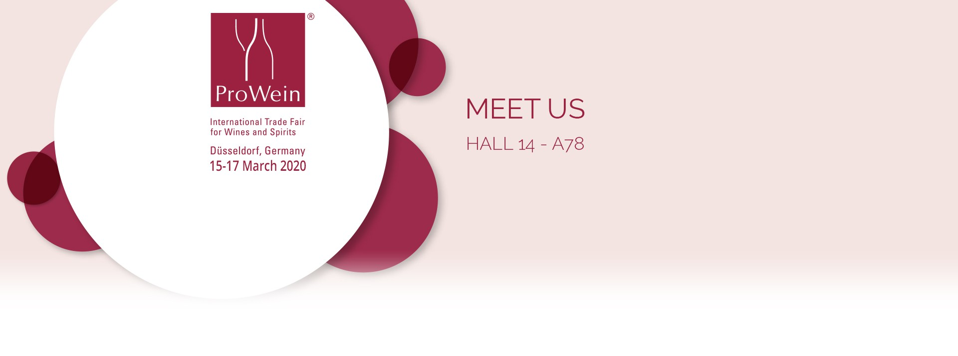 Meet EuroCave at the PROWEIN exhibition from March 15 to 17 in Düsseldorf in Germany.