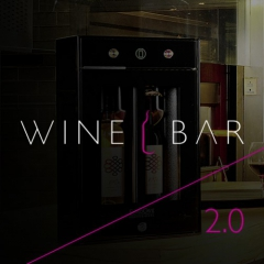 WINE BAR 2.0 - the new 2 bottles wine by the glass serving system!